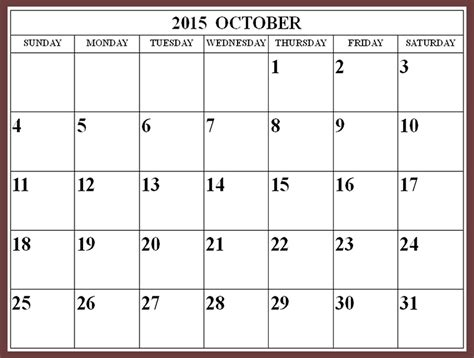printable school calendar october 2015 search results for printable oct 2015 calendar