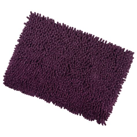 rug backing shaggy microfibre bathroom shower bath mat rug non slip backing 12 colours ebay