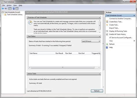 windows 7 task scheduler doesn t list my custom task s super user membuat jadwal shutdown otomatis astro techzone