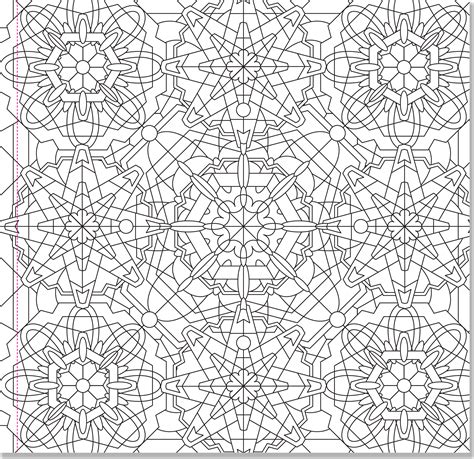 free coloring pages kaleidoscope designs kaleidoscope designs artist s coloring book paperme se
