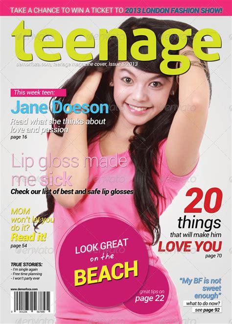 20 Best Magazine Cover Design Templates Best Magazine Templates