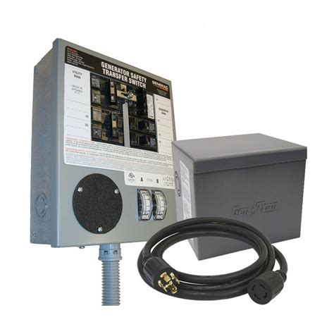 generac indoor transfer switch kit 30 s for 6 10