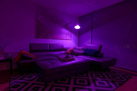 What Color Light Bulb For Bedroom Instantly Adjust The Mood In Your Home The 16 Million Color Light Bulb Freshome