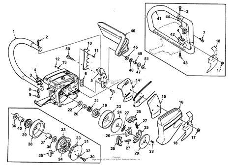 homelite chainsaw parts diagram homelite xl 925 chain saw ut 10415 parts diagram for