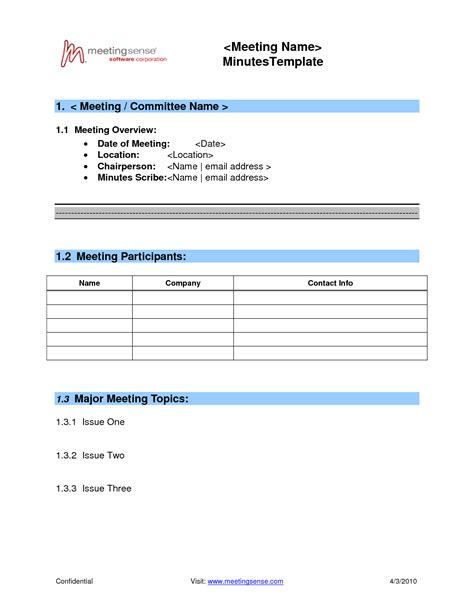 best photos of basic board minutes template basic