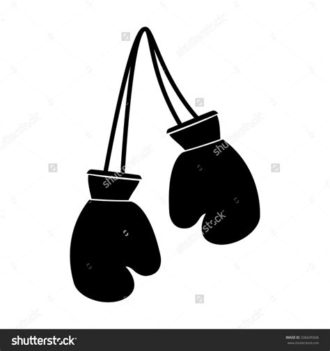 Black And White Gloves black clipart boxing glove pencil and in color black