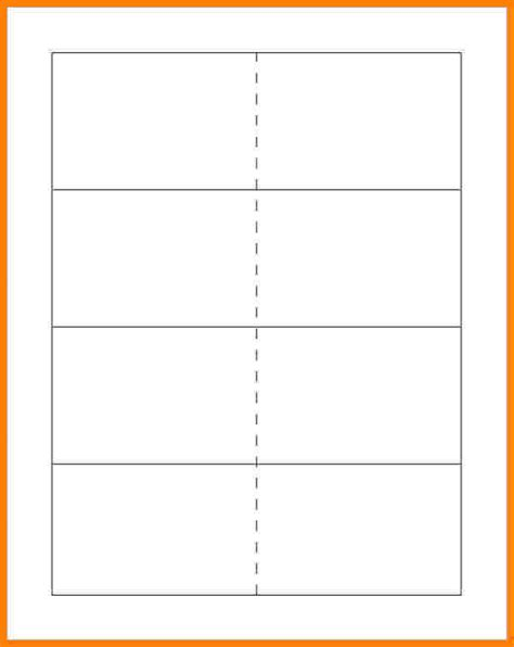15 flashcard template letter format for