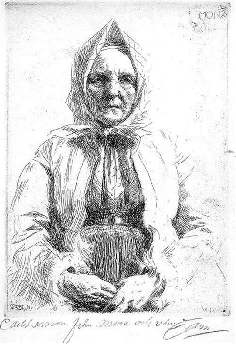 doodle zorn 17 best images about portrait drawings on