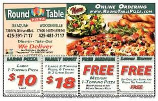 Round Table Online Ordering Round Table Online Coupons 2016 2017 Best Cars Review