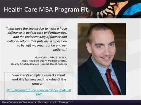 Mba Within Health Insurance Companies by Health Care Of St Mba