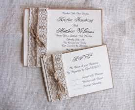 Handmade Wedding Invitations Ideas - rustic wedding invitation ideas diy weddingplusplus