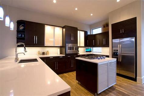 design of the kitchen u shaped kitchen designs wooden cabinetry all home