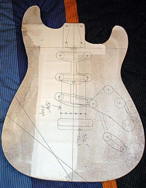 house pattern guitar building a new strat type page 2 fender stratocaster