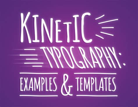 powerpoint kinetic typography template choice image
