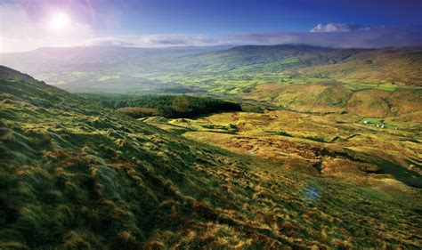 mountains and of northern ireland