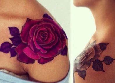 tattoo rose shoulder blade shoulder tattoos tattoo insider