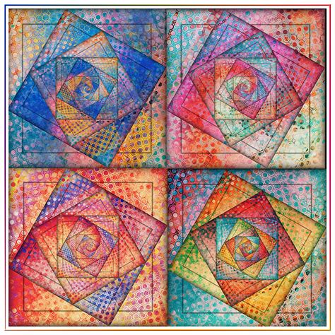 Patchwork Picture - summer patchwork by fractaleyes on deviantart