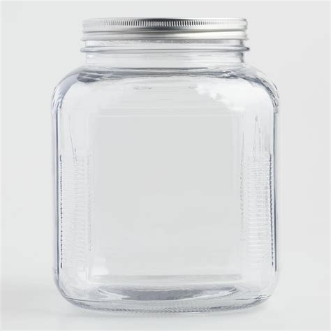 pretty glass storage jars images