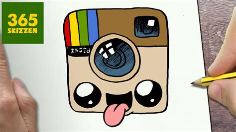 imagenes kawaii instagram wie zeichne man logo instagram kawaii schritt f 218 r schritt