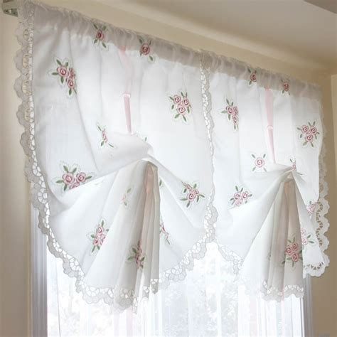how to make pull up curtains rose curtain