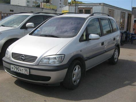 opel zafira 2002 2002 opel zafira photos informations articles