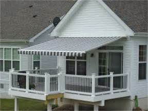 awning deck sunesta retractable patio awning innovative openings