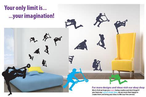 Aufkleber F R Stunt Scooter by Stunt Scooter Neu Diy Deko Aufkleber Vinyl Sticker Kinder