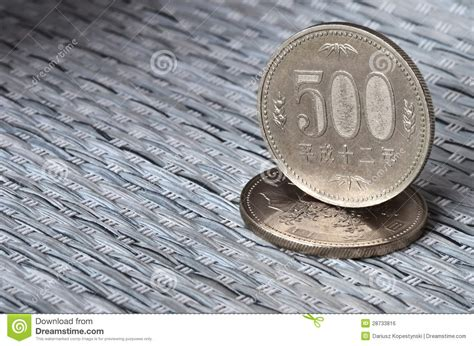 imagenes de monedas japonesas monedas japonesas del dinero en circulaci 243 n imagen de