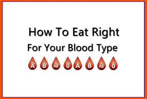 Detox For Your Blood Type by How To Eat Right For Your Blood Type Instiks