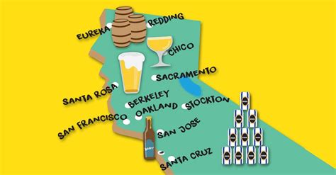 san francisco microbrewery map breweries in northern california san francisco chronicle