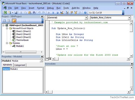 tutorial microsoft excel 2003 visual basic editor excel 2003 tutorial fiemasra198513