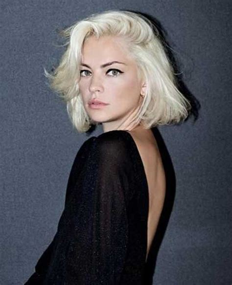 bob hairstyles in blonde 20 best short bleached blonde hair short hairstyles 2017
