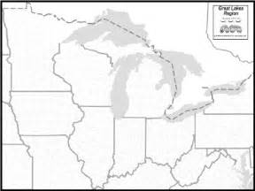 us great lakes map quiz great lakes map to print