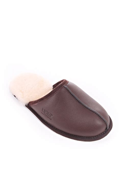 ugg scuff slipper ugg australia mens scuff slippers winter blueberries