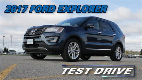 test drive review 2017 ford explorer test drive the car guide