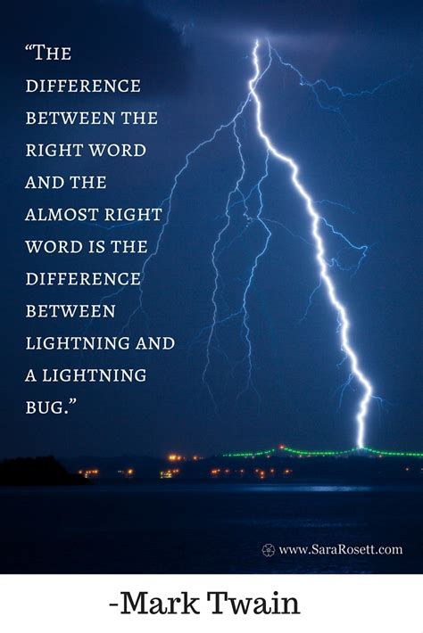 between the lightning bug and the lightning a writers bookish quote sara rosett