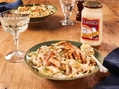 ina garten fettuccine alfredo recipe shrimp fettuccine alfredo recipe food network kitchen