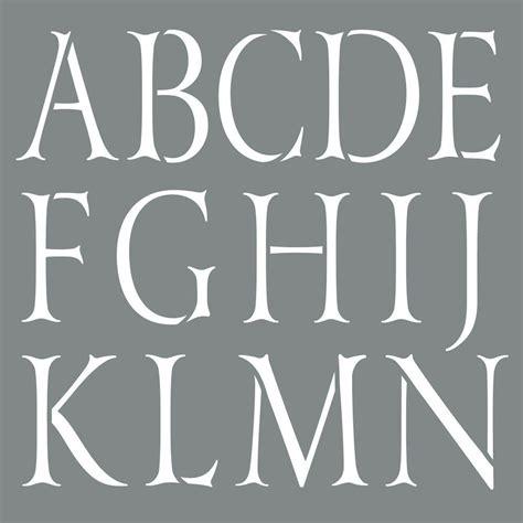 home decor stencils decoart americana decor 10 in x 10 in classic alphabet