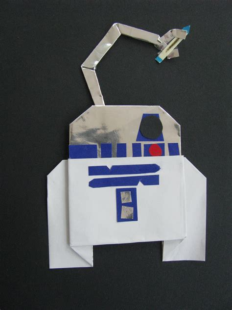 Origami R2d2 Book - march 2013 origamiyoda page 7