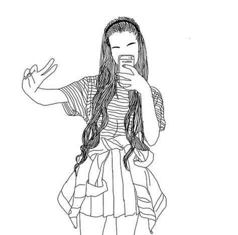 outline drawing app image about in grunge sketch by idlesmiles