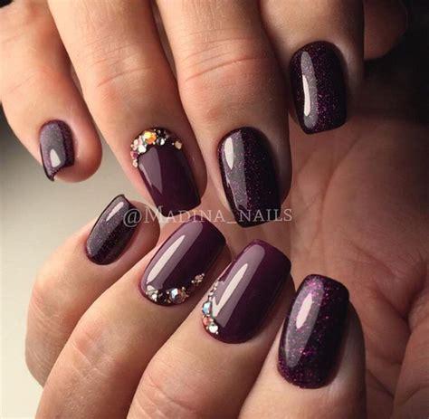 plum nail color best 25 plum nails ideas on plum nail