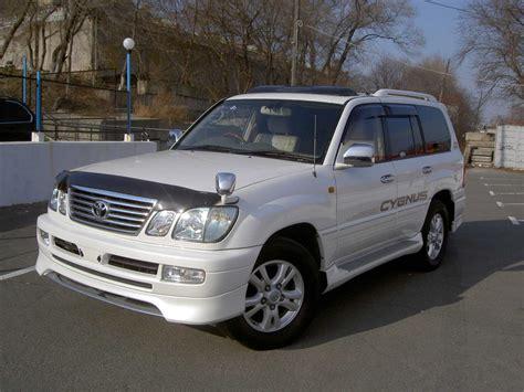 2002 Toyota Land Cruiser 2002 Toyota Land Cruiser Cygnus Wallpapers 4 7l