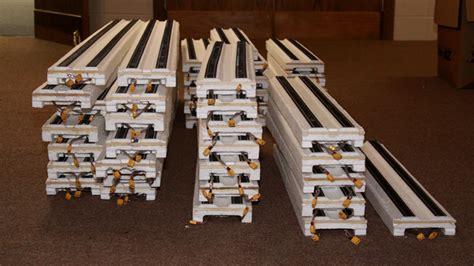 model railroad vertical helix track layout  multiple