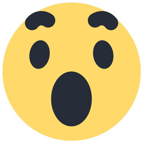 emoji vector facebook wow emoji emoticon icon vector logo free