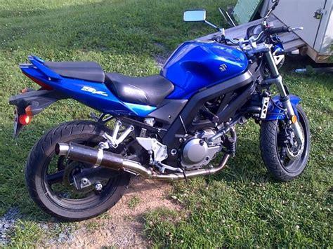 Suzuki Sv650 Tire Size Buy 2005 Suzuki Sv 650 Blue Low On 2040 Motos