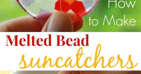 how to melt pony melted bead suncatchers how to make them with pony