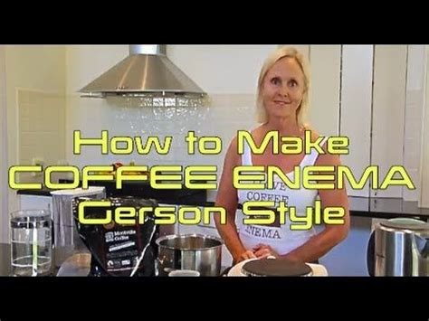 Gerson Detox Plan by 17 Best Images About Coffee On