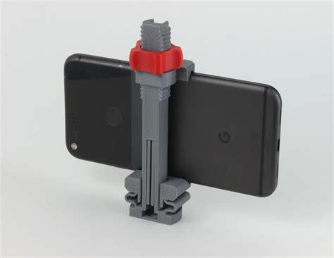 printed universal phone tripod mount  jakejake pinshape