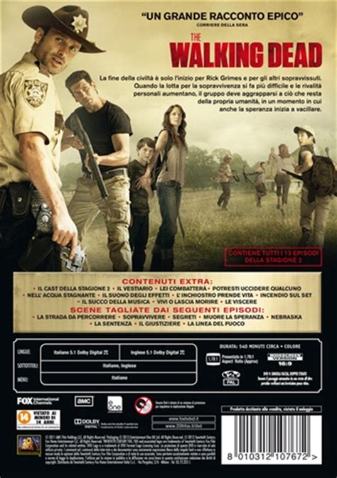 film baru walking dead film the walking dead stagione 2 4 dvd dvd lafeltrinelli