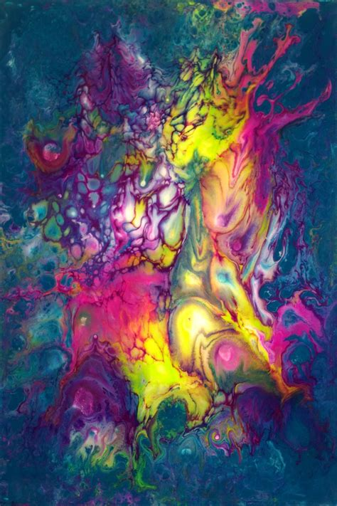acrylic paint pour 89 best fluid images on abstract